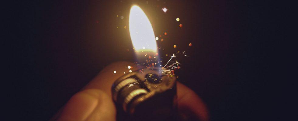 aansteker bedrukken